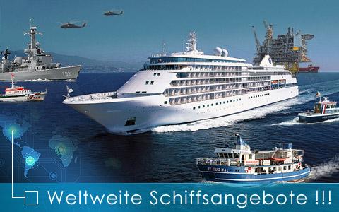 Weltweit Schiffe kaufen
