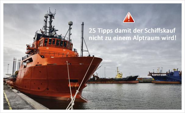 Tipps Schiffskauf
