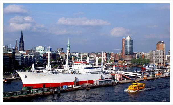 Schiffshafen in Deutschland, Europa und der Welt