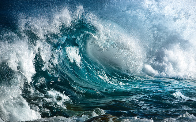 Seegang, Wind Wellen und Wetter